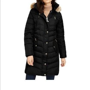 Black Michael Kors Puffy Jacket